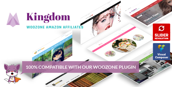Kingdom WooCommerce Amazon Affiliate Theme